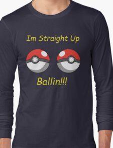 Pokemon Ballin Long Sleeve T-Shirt