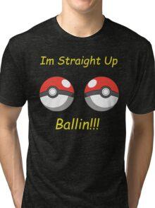 Pokemon Ballin Tri-blend T-Shirt