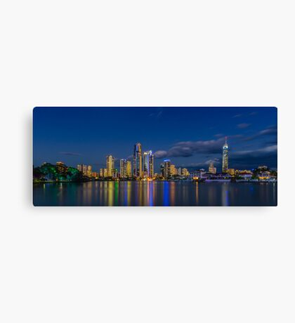 Surfers Paradise Skyline, Gold Coast, Australia Canvas Print