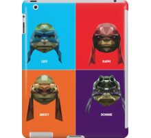 Ninja Mutant Teenage Turtles iPad Case/Skin