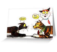 SkyeCatz Introductions Greeting Card