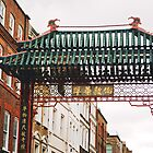 Chinatown Gate by lorenzoviolone