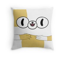 Adventure Time - Cake The Cat Throw Pillow