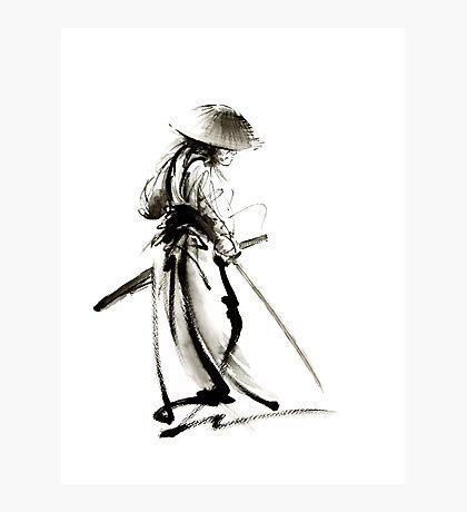 Samurai Ronin Japan art samurai sword armor samurai mask katana sword samurai avatar japan poster japan wall decor japan poster japan print costume samurai clothing samurai decall samurai avatar Photographic Print