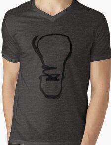 Half Formed Idea Mens V-Neck T-Shirt