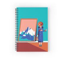 Painter Spiral Notebook