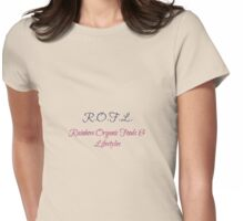 Rainbow Organic Foods & Lifestyles Womens Fitted T-Shirt