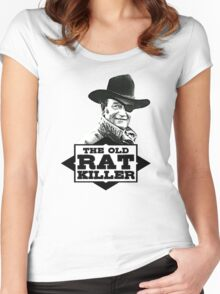 The Old Rat Killer Women's Fitted Scoop T-Shirt