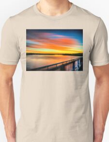 Pioneer River Sunset Unisex T-Shirt