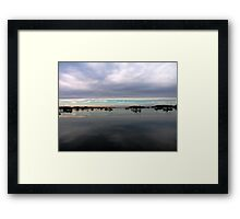 Sunset In Lubec Framed Print