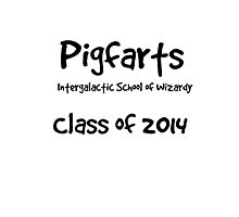 Pigfarts Class of 2014 Photographic Print