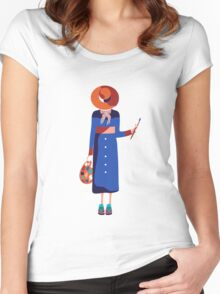 Painter Women's Fitted Scoop T-Shirt