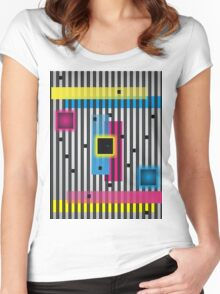 Lines 5 Women's Fitted Scoop T-Shirt