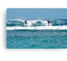 Paradise Surf Canvas Print