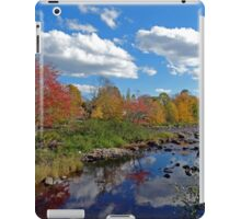 Fall In Small Town Maine iPad Case/Skin