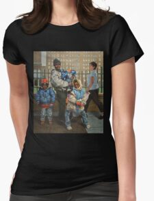 Family at One Womens Fitted T-Shirt