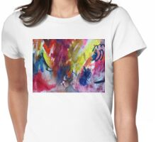 Blueberries Womens Fitted T-Shirt