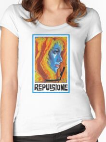 Repulsion  Women's Fitted Scoop T-Shirt