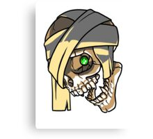 MummySkull Canvas Print
