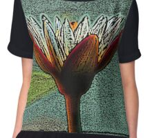 Hand of Life - Coloured Pencil Effect Chiffon Top
