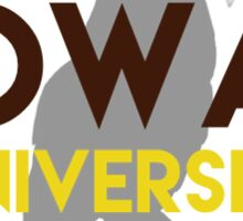Rowan University with Owl Sticker