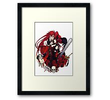 grell and madam red together  Framed Print