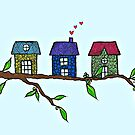 Tree houses little houses in the trees by Casey Virata
