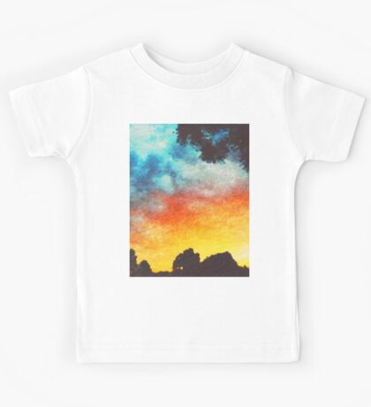 Landscape Sunset Kids Tee