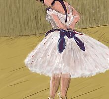 HG in the style of Degas by edtuckerartist