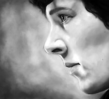 Sherlock - A Study In Pink - Black & White by averagevirtuoso