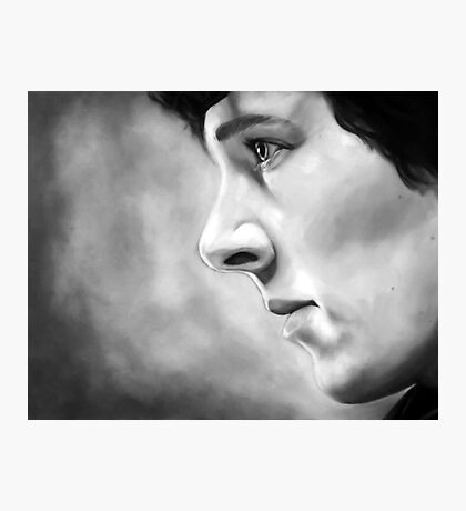 Sherlock - A Study In Pink - Black & White Photographic Print