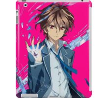 guilty crown shu pulling the void  iPad Case/Skin