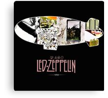 led zeppelin album covers mothership 1968 Canvas Print