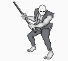 RICK SPLATTERHOUSE STICKER by Austin Toebosch