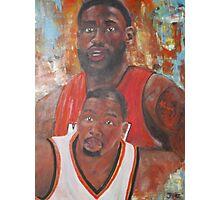 The Boys of Basketball Photographic Print
