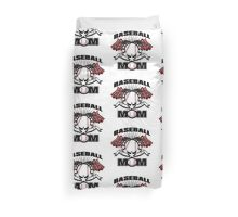 Baseball Mom Duvet Cover