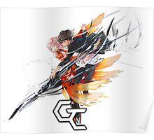 shu and inori up in arms together Poster