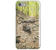 Tomorrow No Mistakes Anne of Green Gables iPhone Case/Skin