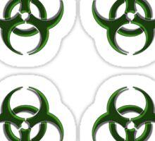 Biohazard warning, bio waste Sticker