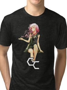 inori lost in the wind Tri-blend T-Shirt