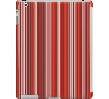 Many colorful stripe pattern in red on iPad Cases & Skins by pASob-dESIGN | Redbubble