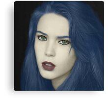 Mysterious Beauty  Canvas Print