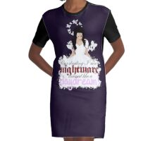 Sweet Nightmares, Dearie Graphic T-Shirt Dress