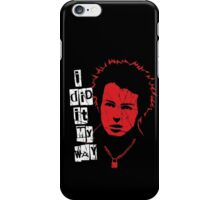 Sid Vicious Destroyed iPhone Case/Skin