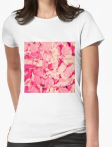 Pink Candy Womens Fitted T-Shirt