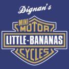 Dignan's Little Bananas Bottle Rocket T-Shirt by Tabner