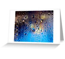 Condensation 06 - Mochaccino Greeting Card