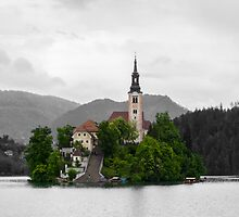 Bled Lake, Slovenia. by Sunil Bhardwaj
