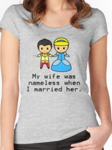 Nameless Marriage Women's Fitted Scoop T-Shirt
