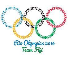 Team Fiji Olympics Photographic Print